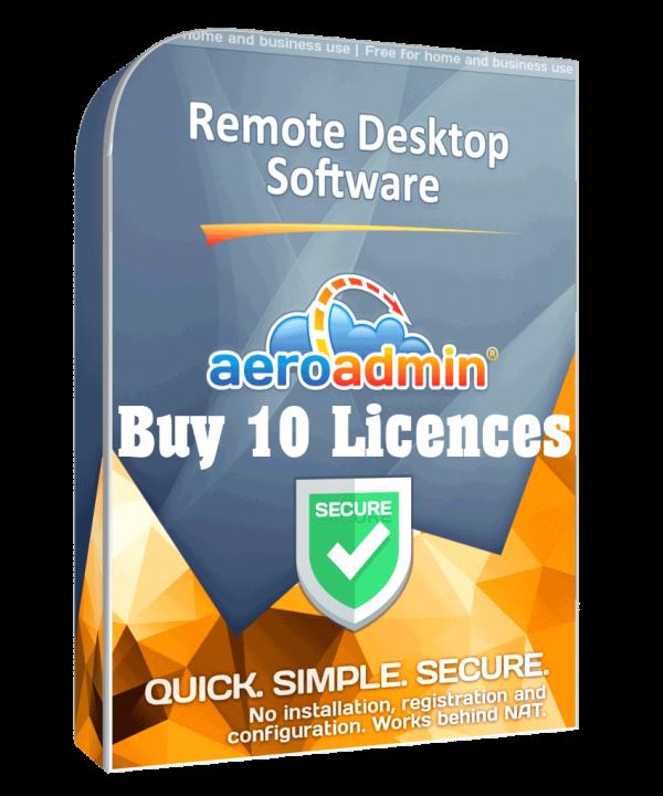 TekNet - Buy 10 Licences