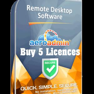 TekNet - Buy 5 Licences